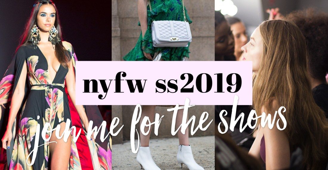 NYFW SS2019 VLOG COME WITH ME TO THE SHOWS