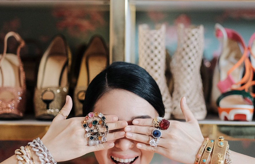 HEART EVANGELISTA AKA MARIE ESCUDERO NOT JUST ANOTHER PRETTY RICH ASIAN