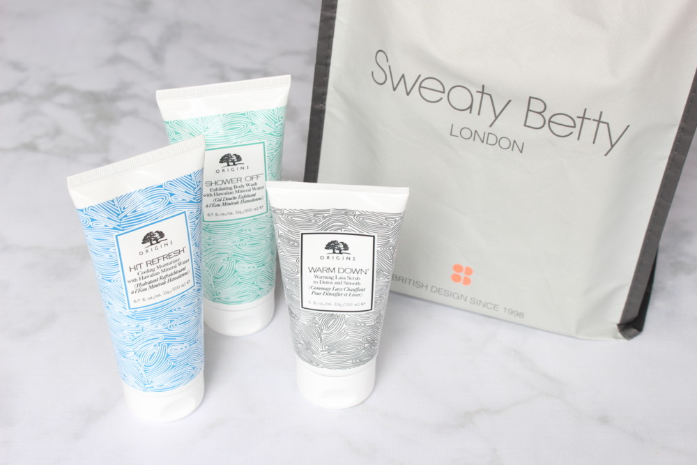 Giveaway: Origins X Sweaty Betty Post-Workout Beauty