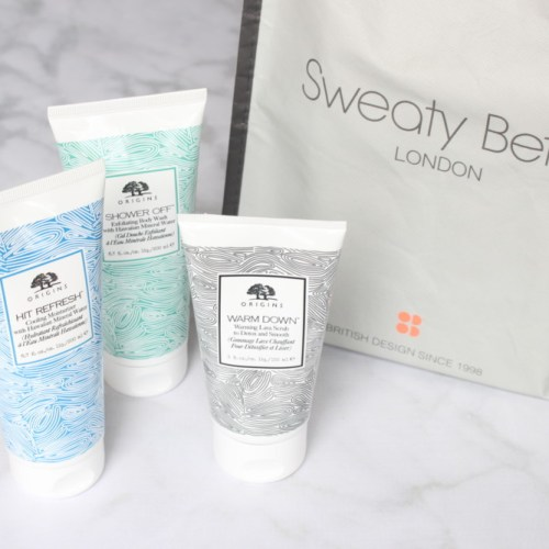 Giveaway: Origins X Sweaty Betty Post-Workout Beauty