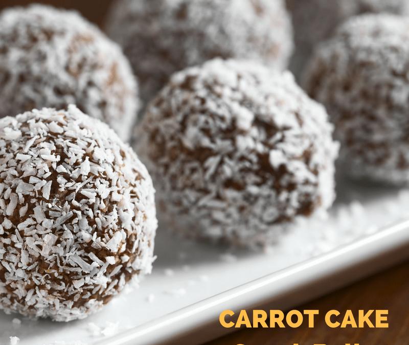 Carrot Cake Snack Balls
