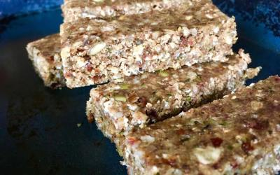 Vegan energy bars on the go!