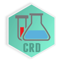 Chemical research and development firm logo