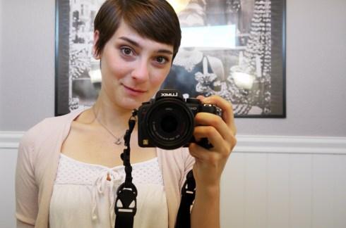 self portrait with Panasoni GH1