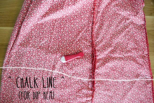 dress-to-top-refashon-hem-line