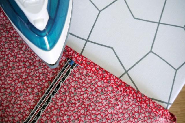 dress-to-top-refashon-iron-seam