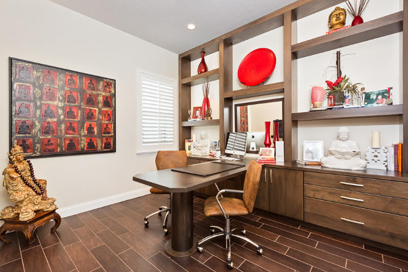 Neutral Contemporary office