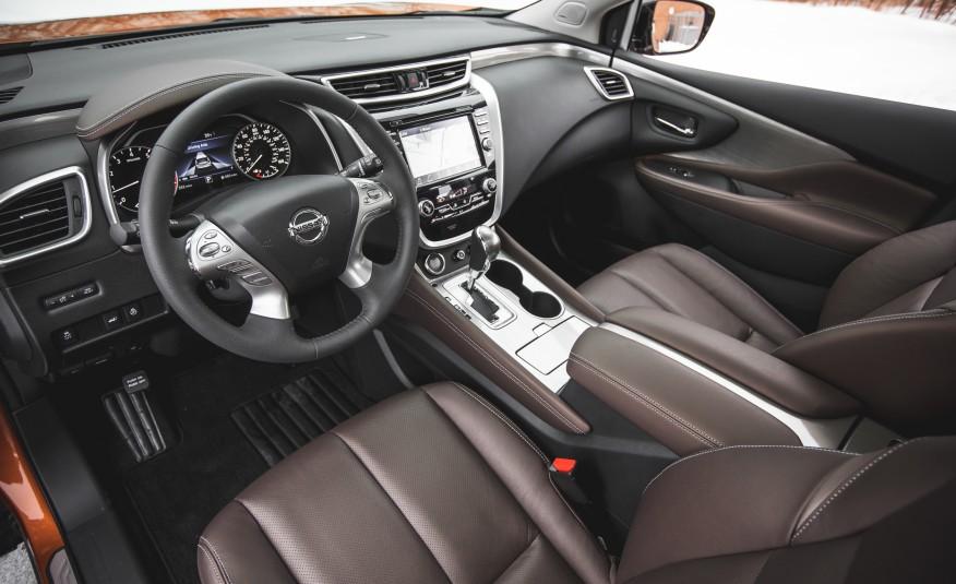 Nissan Murano Platinum AWD 2015 Great Ergonomics And