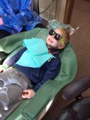 ... at the dentist ...