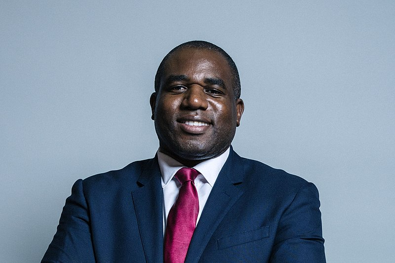 What has happened to David Lammy?
