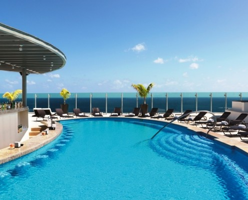 Beach Palace Sky Floor pool