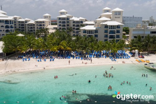 Occidental Costa Cancun aerial view