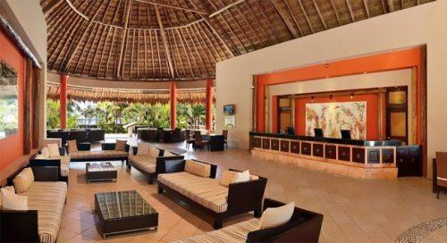 Catalonia Yucatan Beach lobby