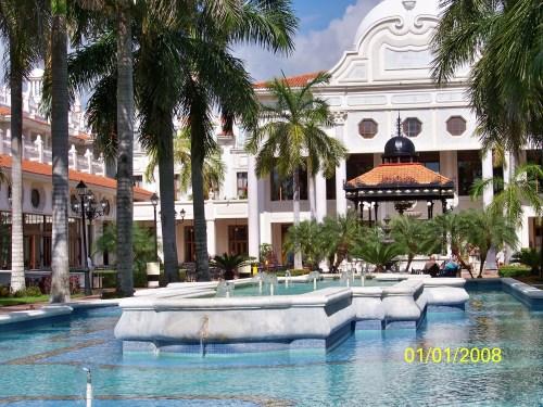 Riu Palace Riviera Maya courtyard