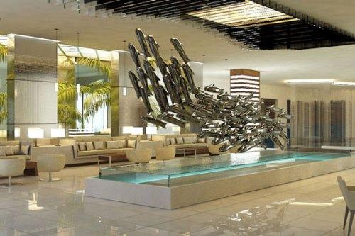 Secrets Silversands Riviera Cancun lobby