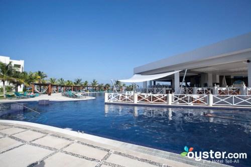 Secrets Silversands Riviera Cancun main pool