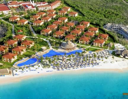 Ocean Maya Royale aerial view