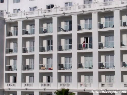 Riu Palace Las Americas balconies