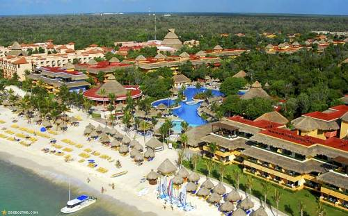 Aerial view of the Iberostar property
