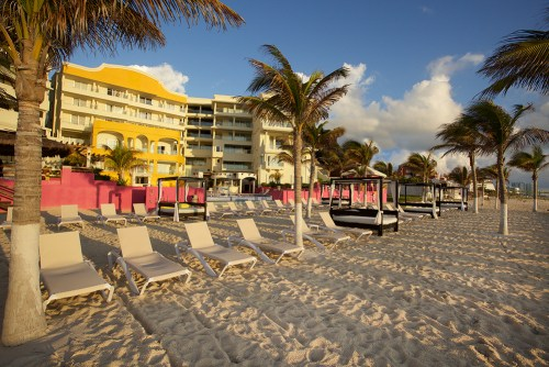 NYX Hotel Cancun beach