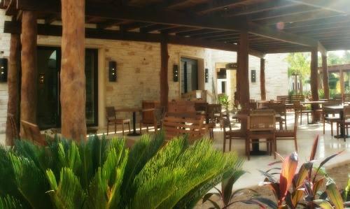 Secrets Akumal El Patio restaurant