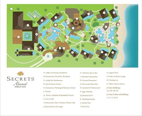 Secrets Akumal Resort Map Allinclusivegal