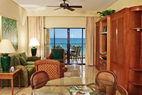 The Royal Sands living room