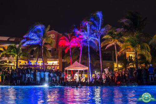 Barcelo Maya Beach Crash My Playa nightly performance