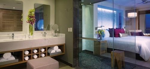 Breathless Riviera Cancun suite interior