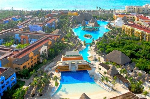 Iberostar Paraiso Lindo aerial view