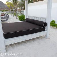 Krystal Grand Punta Cancun beach Bali bed