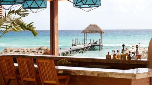 Viceroy Riviera Maya beachfront bar