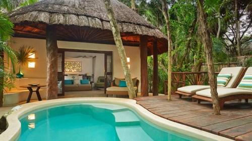 Viceroy Riviera Maya terrace