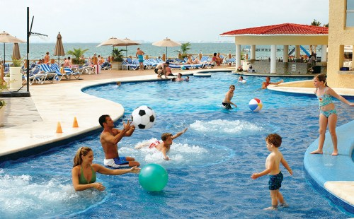 All Ritmo Cancun Resort and Waterpark main pool