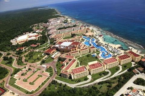 Hard Rock Hotel Riviera Maya aerial view
