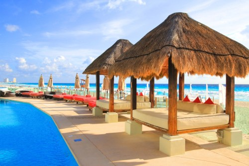ME Cancun by Melia adults-only pool