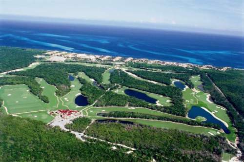 Moon Palace golf course section