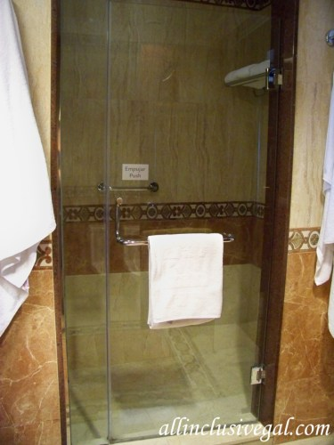 Riu Palace Las Americas Jr. Suite shower