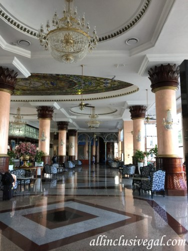 Riu Palace Las Americas lobby after renovations