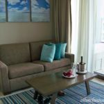 Dreams Playa Mujeres Jr. Suite sitting room area