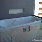 Dreams Playa Mujeres balcony Jacuzzi tub