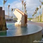 Dreams Playa Mujeres entrance fountain