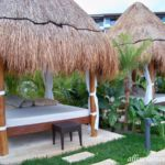 Dreams Playa Mujeres poolside Bali bed