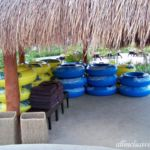 Dreams Playa Mujeres flotation tubes for the Lazy River