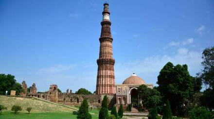 Qutub Minar Monument in New Delhi