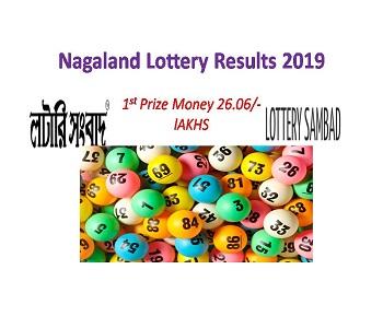 Dear Loving Nagaland State Lottery Results 05 08|Nagaland Lottery