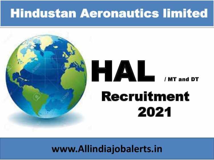Hindustan Aeronautics Limited Recruitment 2021