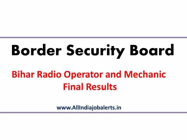 Bihar Border Results