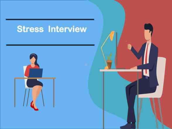 Stress interview