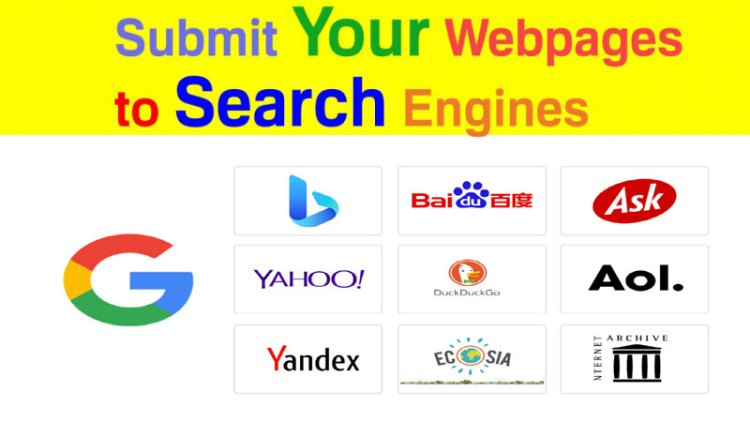 Top Search Engine Submission Sites List With Top Domain Authority (DA) and Page Authority (PA)